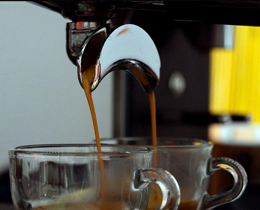 Extracción de Espresso