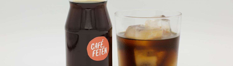 Infusión fría de café con hielo